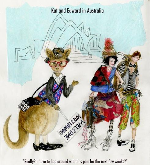 Australia Drawing 2