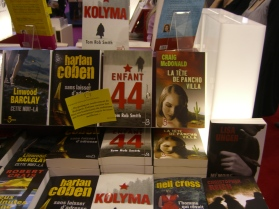 The first translation: French (La tête de Pancho Villa, Editions Belfond, 2009)