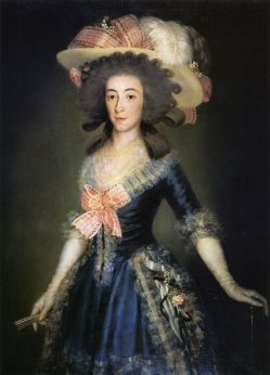 'The Duchess of Osuna', Francisco de Goya
