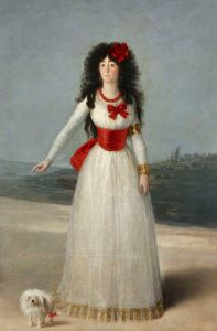 'The White Duchess', Francisco de Goya