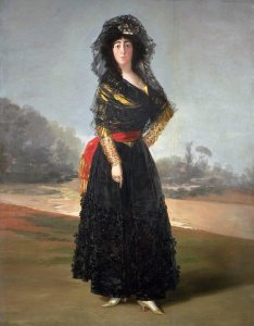 'The Black Duchess' Francisco de Goya