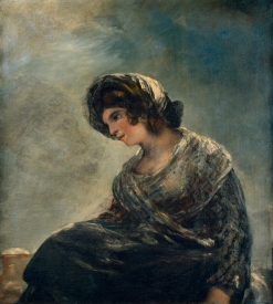 'The Milkmaid of Bordeaux', Francisco de Goya