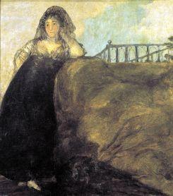 'La Leocadia', Francisco de Goya